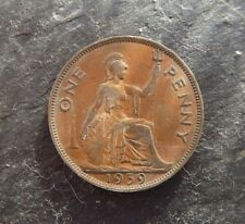 1939 One Penny Coin King George VI