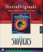 Shivers jeu CD-ROM PC 1995 Sierra Originals Version française livret en français