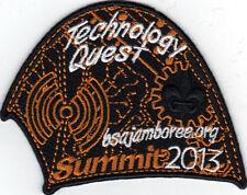 2013 National Jamboree Promo Tent Patch Series, Technology Quest, Mint!