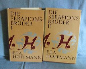 Die Serapionsbrüder-E.T.A.Hoffmann 2 Bände