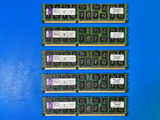 LOT OF 5 - Kingston 8GB PC3-8500R DDR3-1066MHz SERVER RAM KTA-MP1066QR/8G TESTED