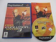 PRO EVOLUTION SOCCER 3 - SONY PLAYSTATION 2 - Jeu PS2 PAL Fr Complet