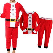 Boys Girls Baby  *   ▪  Pajamas • Claus Pyjamas Outfits Set Nightwear