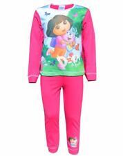 Toddler Girls Dora The Explorer Pyjamas Sleepwear Night Wear PJs Age 1-5 Years