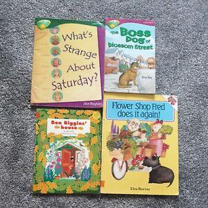 Oxford reading tree /longmans/Collins phonics books x4