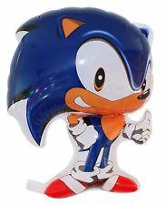 "Sonic the Hedgehog shaped foil balloon.27"" x 19.5 inches 50cm x 69cm SEGA"