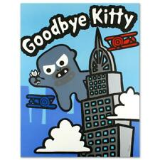 "Todd Goldman ""Goodbye Kitty (1)"" Signed Limited Edition Lithograph On Paper"