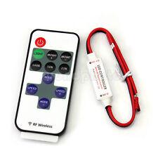 12A Mini RF Controlador Remoto Inalámbrico Dimmer para Luz Tira LED Monocolor