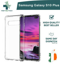 Samsung Galaxy S10+ Plus Case Cover ShockProof Soft Phone Clear TPU Silicone