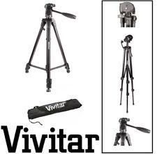"Pro 62"" Vivitar Tripod with Case For Sony FDR-AX1 FDR-AX33 HVR-Z7U HXR-NX5U"