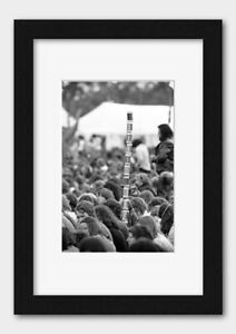 Tower of Beer Cans at a Rock Concert Berkshire England 1974 Print 5