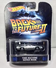 Hot Wheels Back To The Future Time Machine Hover Mode 1/64 Diecast Car