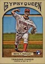 2011 Topps Gypsy Queen Baseball #233 Yunesky Maya RC