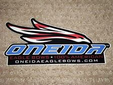 1 New Style Oneida Eagle Bows Sticker (Look)