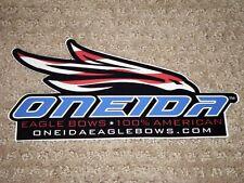 Large Style Oneida Eagle Bows Sticker (Nice)