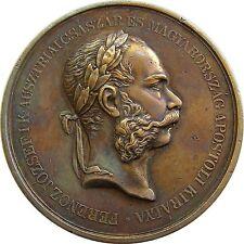 f507 Hungary Austria 1911 Franz Josef animal breeding award silvered medal
