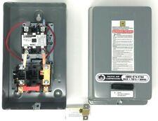 Square D Air Compressor Magnetic Starter 5hp Single Phase 208 240 Volt Oem