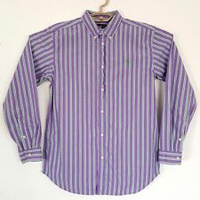 RALPH LAUREN Classic Fit Button Front Long Sleeve Shirt Size XL 18/20