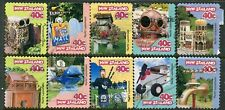 NEW ZEALAND....    1997  wackey letterbox  booklet stamps  set  used