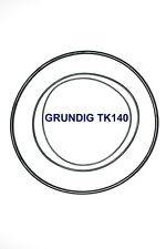 SET BELTS GRUNDIG TK140 REEL TO REEL EXTRA STRONG NEW FACTORY FRESH TK 140