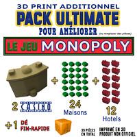 Ultimate Pack Améliorez Vos Parties de Monopoly - 3D Print  Pour Jeu de Société
