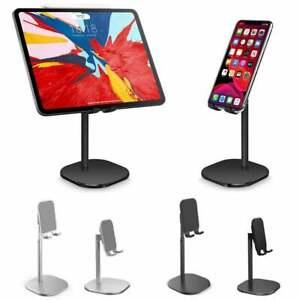 Height-Adjustable Phone Holder Stand iphone ipad table Mount Metal Desktop sten