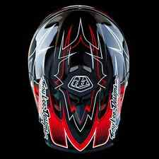 "New Troy Lee Designs AIR ""Starbreak Black Red"" Small MX Helmet TLD Team Honda"