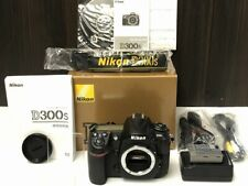 Nikon D300S 12.3 MP Digital SLR Black Body 【Near Mint in BOX】Shutter count:4,872