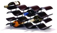 Oenophilia BALI 12 WINE RACK, EBONY 10200 Wine Rack NEW
