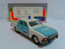 USSR AGAT Novoexport 1/43 Volga GAZ 3102 GAI Milicja Russian Police