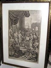 Belle gravure XVIIIe B.PICART 1725- tirée d'un Corneille avant la lettre-