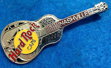 New listing Nashville Silver Tri Plate Acoustic Guitar Model 35 2Lc Hard Rock Cafe Pin