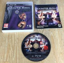 Saints Row IV Commander In Chief Edition - Playstation 3 PS3 Game - Complete