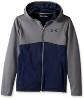 Junior Under Armour 'Cold Gear Fleece' Full Zip Hoodie Size Medium Youth