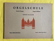 Kaller Orgelschule Orgel Noten Notenbuch