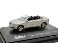 Schuco 1:87 Audi A4 Cabriolet Silver Diecast Model Car