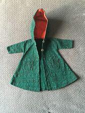 "Miss Revlon 24"" 25"" 26"" Doll Clothes Coat Cape Cloak Red Riding Hood Tweed Green"