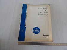 Catalogo ricambi originale produz.  Garelli mosquito 38 b 49 cc turismo sport 70