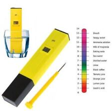 US Digital PH Meter Tester Pocket Portable Pool Water Aquarium Hydroponic Wine