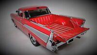 57 Chevy 1957 BelAir Hot Rod 1 Pickup Truck Chevrolet Built Classic Car Model 24