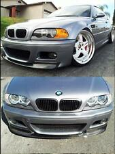 For 2001-2006 BMW E46 M3 Bumper Added CSL Style Carbon Fiber Front Lip Spoiler