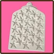 Design Mat Fondant Cake Icing Craft Embellishment Mould - Star Numbers