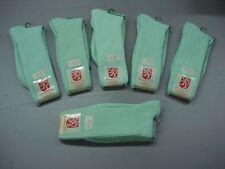 NWT Men's USA Made Windsor Dress Socks Size 10-13 Light Green 6 Pair #415K