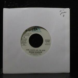 """Dionne Warwick - Some Changes Are For Good 7"""" Mint- Promo Arista AS 0602 USA"""