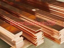 1 Piece 99% Purity Copper T2 Cu Metal Flat Bar Plate 5mm x 15mm x 250mm