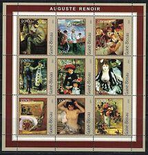 Guinea Bissau: 2001 mini sheet MNH Auguste Renoir Nude
