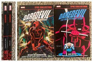 Daredevil Epic Collection TPB Set Vol 14 15 Heart Darkness Last Rites 271 300