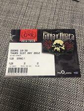 Guns N' Roses London 2012 Used Concert Ticket