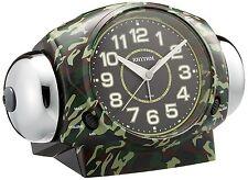 RHYTHM Auth Loud volume Bell sound Alarm clock 634 8RA634SR05 military WW2 army