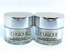 Lot/2 Clinique Sculptwear Contouring Massage Cream Mask ~ .5 oz ~